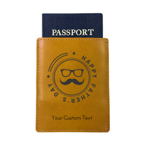 Happy Father's Day Personalized Passport Cover Thumbnail
