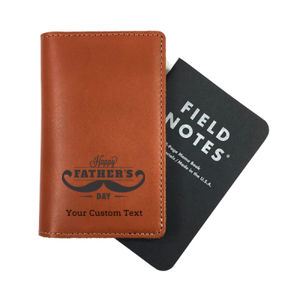 Happy Father's Day Personalized Field Notes Cover Thumbnail
