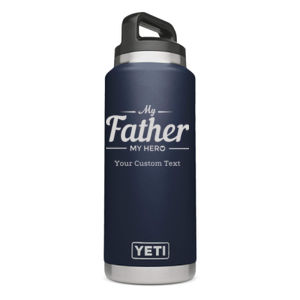 My Father My Hero Personalized Yeti Rambler Thumbnail