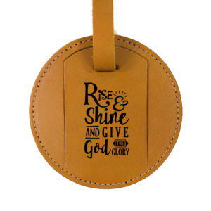 Give God the Glory Personalized Luggage Tag Thumbnail