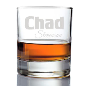 Personalized Whiskey Glass for Him Thumbnail