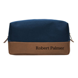Personalized Toiletry Bag for Dad Thumbnail