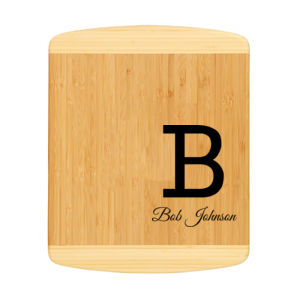 Personalized Bamboo Cutting Board for Dad Thumbnail