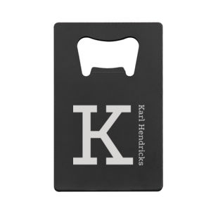 Personalized Credit Card Bottle Opener for Grandpa Thumbnail