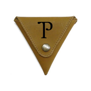Personalized Triangle Coin Pouch for Granpa Thumbnail
