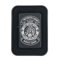 Personalized Fire Fighter Legend Stainless Steel Ligher Thumbnail