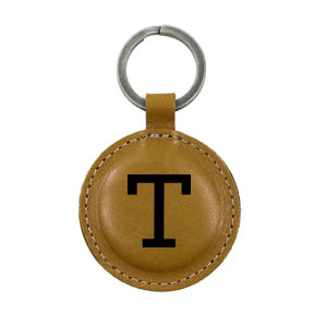Personalized Leather Keychain Thumbnail