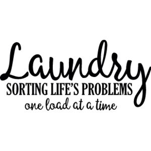 Laundry Sorting Lifes Problems Thumbnail